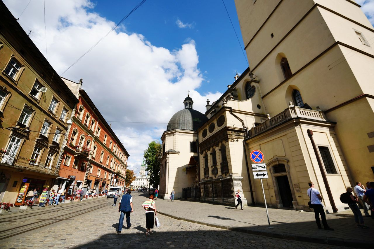 Travel Destinations Architecture Old-fashioned Cityscape Nikon_photography_ Nikon D810 Tamron 15-30mm Lviv, Ukraine