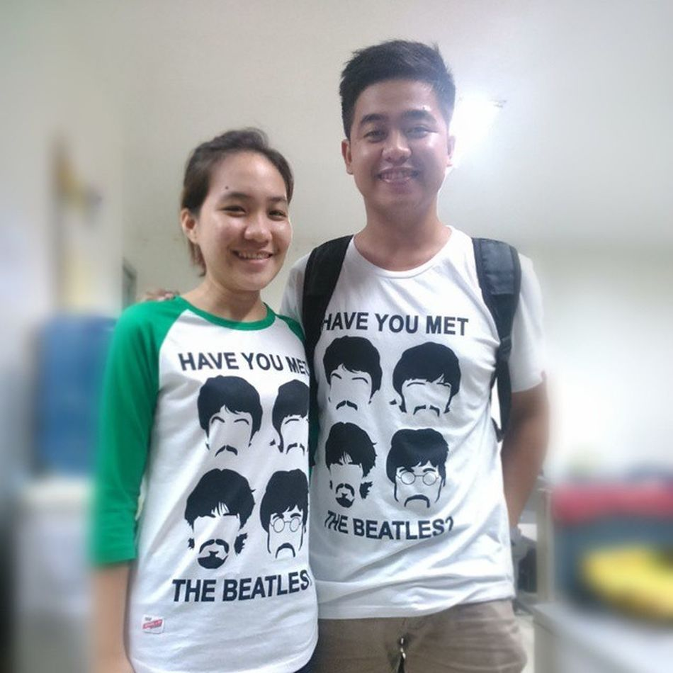 have you seen Thebeatles Pair Shirt Americanblvd ternoternomonday 😄😍