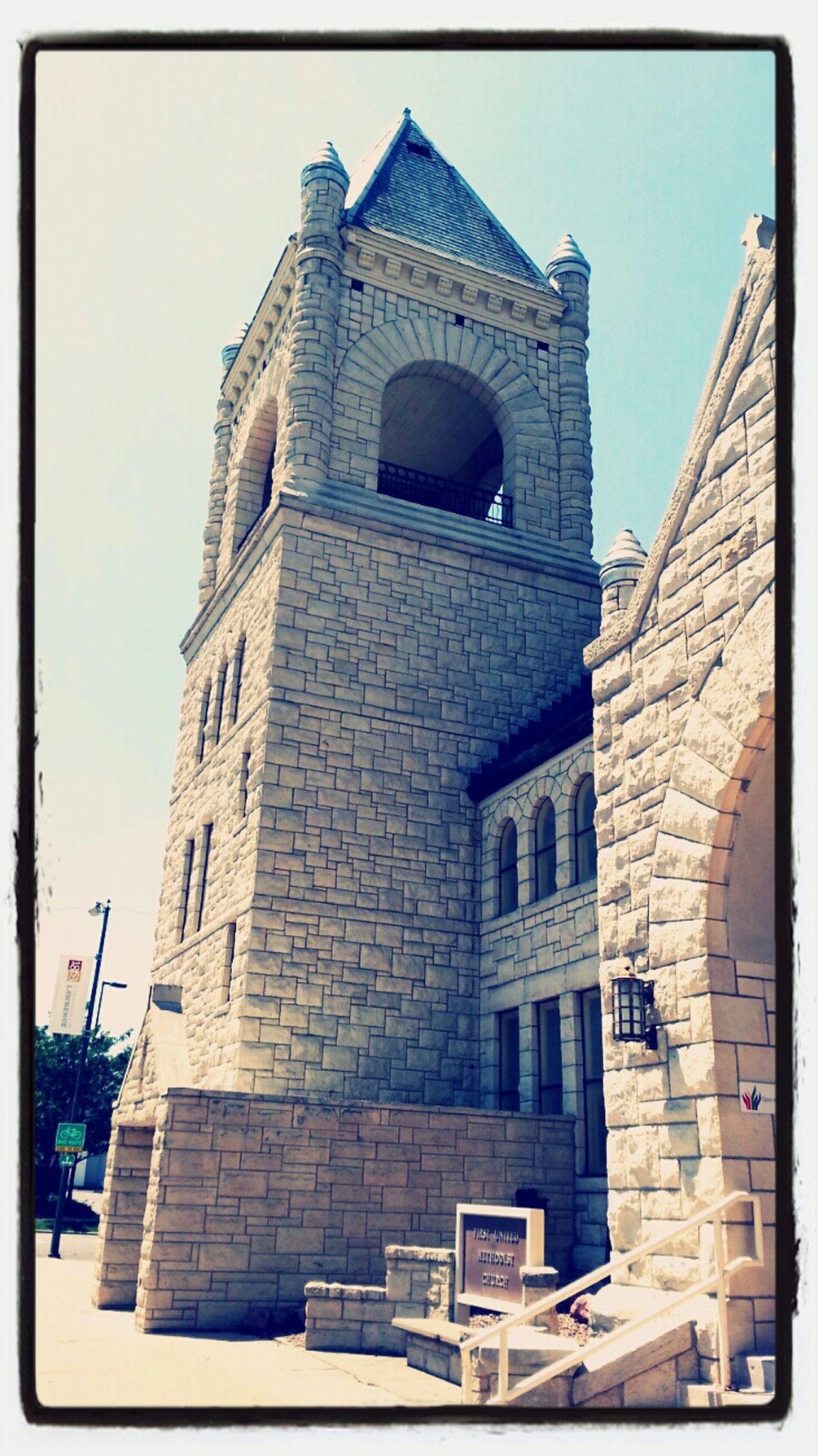 Church tower Urban Semiotics