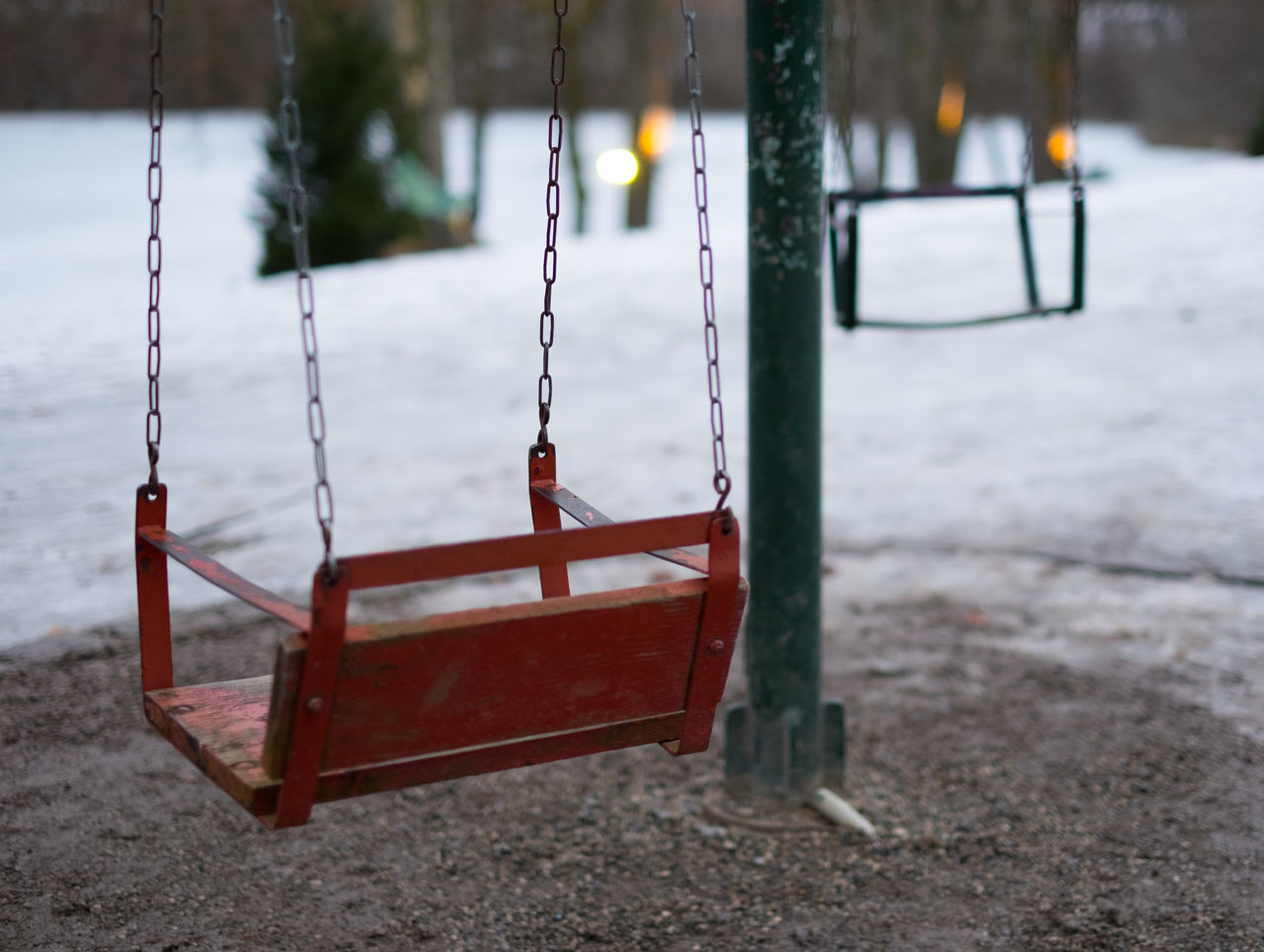 carousel of life Carousel Children Close-up Day Hanging No People Outdoors Playground Swing Winter Abstract Abstract Photography Playgrounds Old Antique City Life Cold Temperature Snow Fine Art Still Life Focus On Foreground Flying Swing