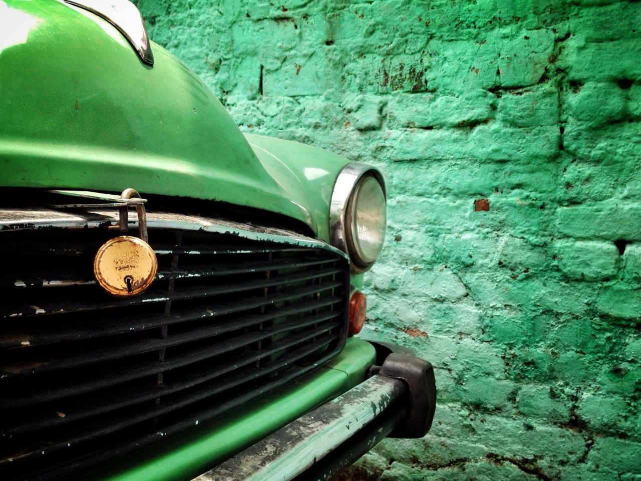 Beautiful stock photos of car, Car, Close-up, Day, Green Color