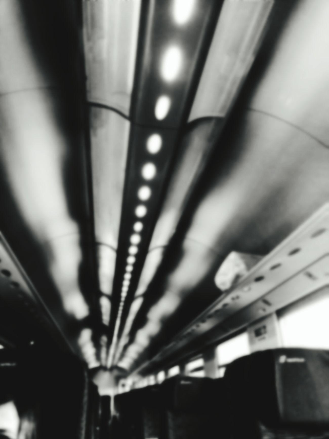 On The Train... On The Train Pipe - Tube Fuel And Power Generation Industry Pipeline Aluminum Electricity  Backgrounds Illuminated Indoors  No People Technology Iron - Metal Travel Transportation The Train Goes Away. Film Industry Metal Industry Day