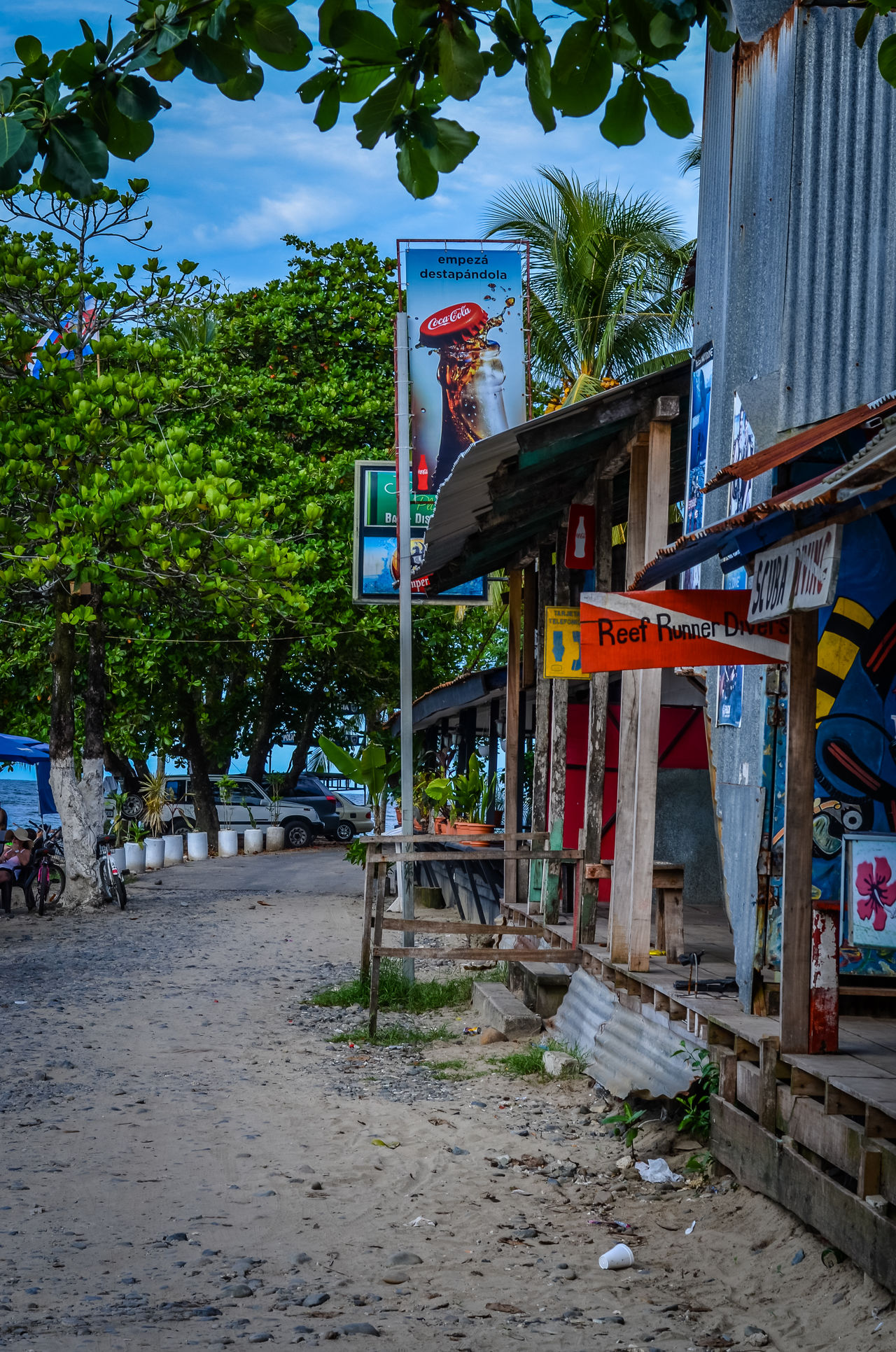 Beach Beach Bar Central America Day Leisure Small Town Summer Tropical Town Tropics Vacation Life Is A Beach Travel On The Road The Great Outdoors - 2016 EyeEm Awards Feel The Journey Miles Away