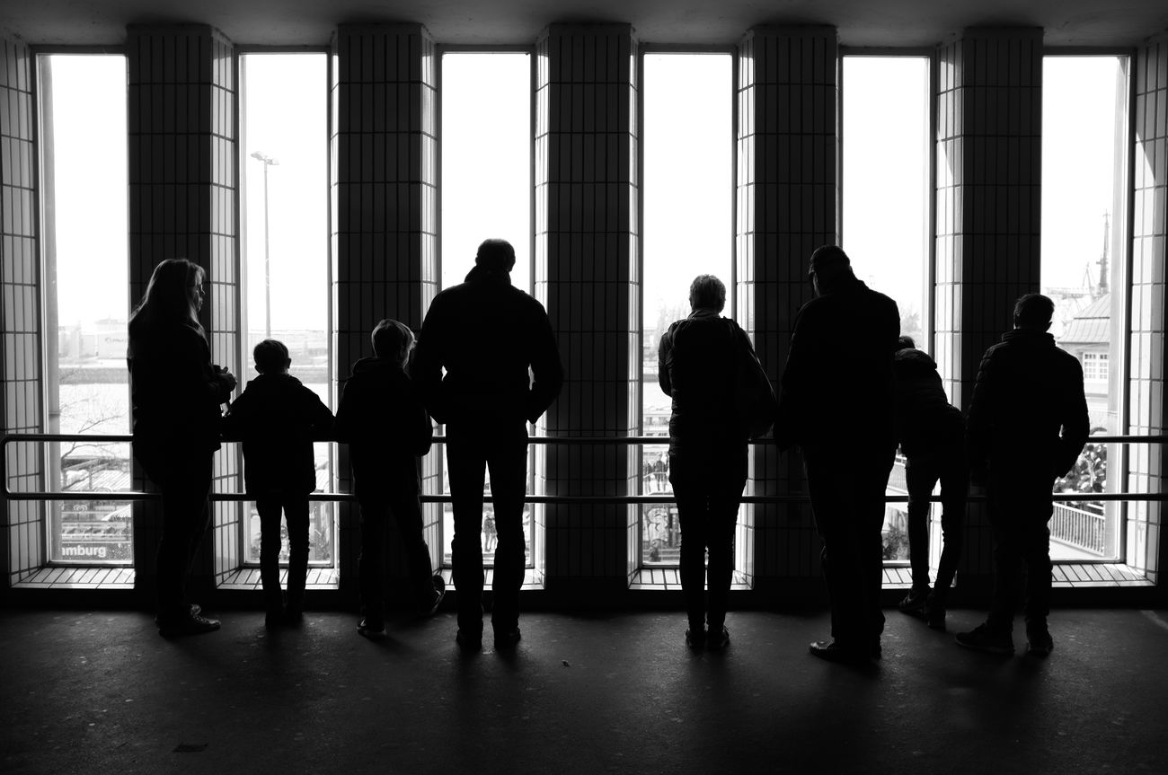 Architecture Hamburg Hh Indoors  People Silhouette Street Street Photography Streetphoto_bw Streetphotography Tourism Window