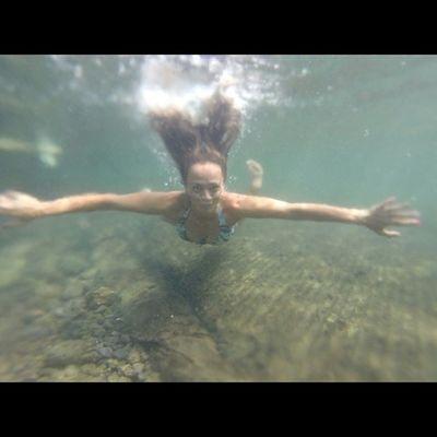 Happiness is when I'm in the ocean♡ Bigislandlove 808love Instapict Instagood Instalove Surf Gopro Lifesbetterinabikini Hi_life Instahi Luckywelivehawaii Saltwater Mermaid