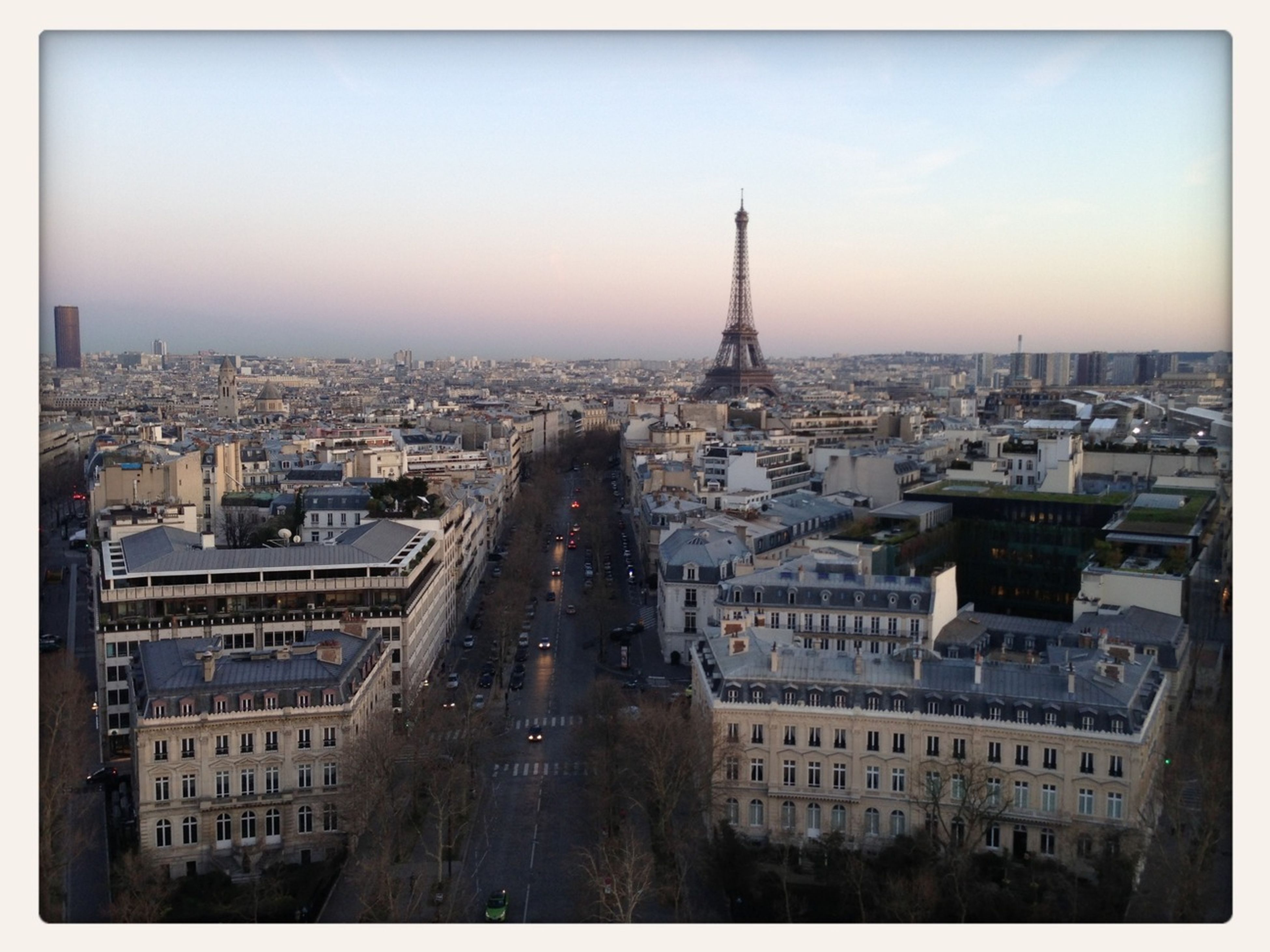 Rooftop View To Eiffel