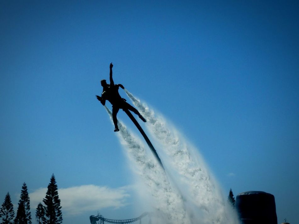 Beautiful stock photos of man, , Activity, Day, Flyboarding