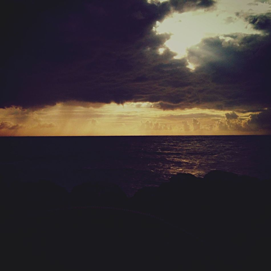 Sea Sunset Cloud - Sky Sky Atmosphere Dark Outdoors Akdeniz İskenderun Photooftheday