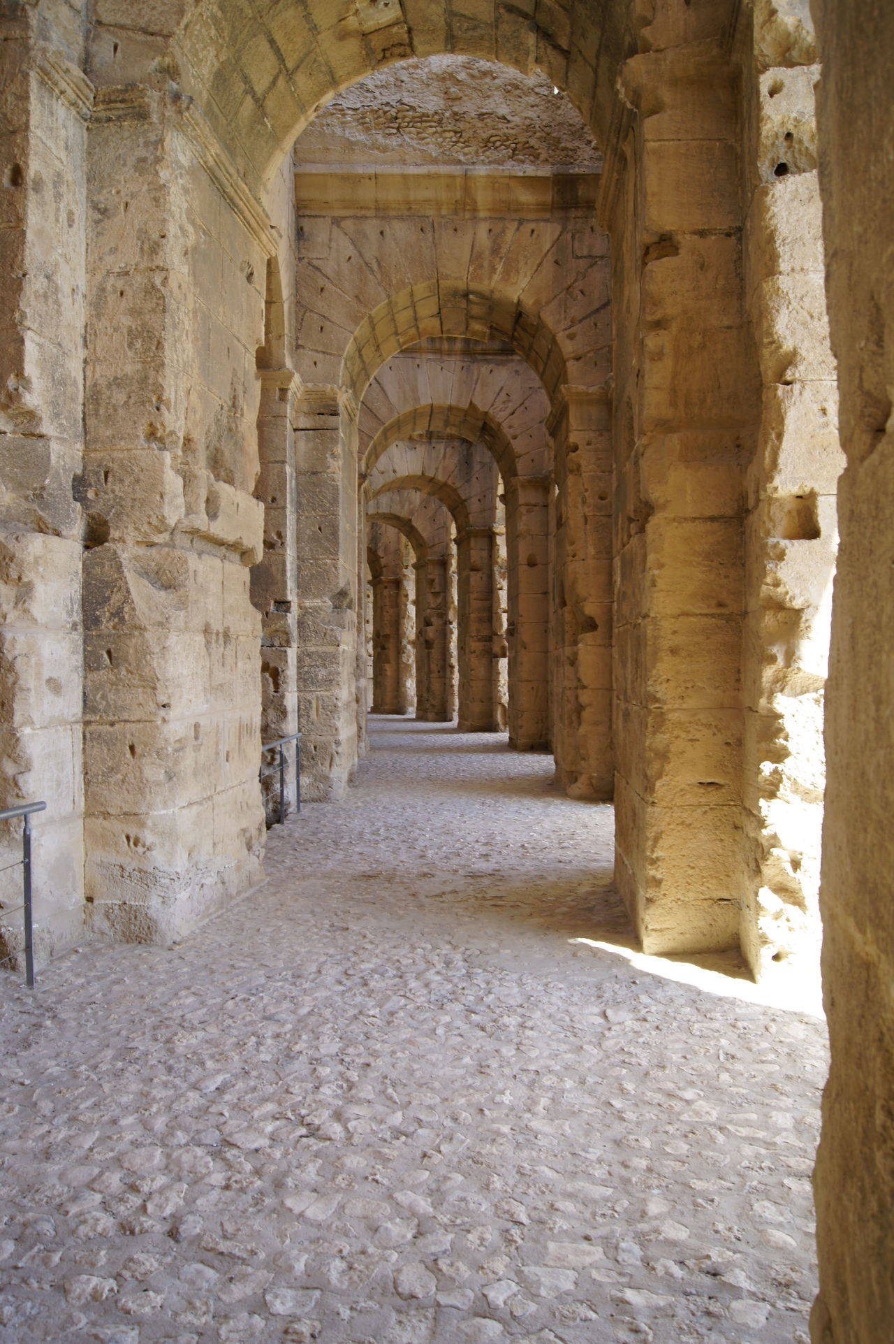 Arch Architecture Built Structure Colloseum Day History Indoors  No People South Africa Tunesia Tunesië