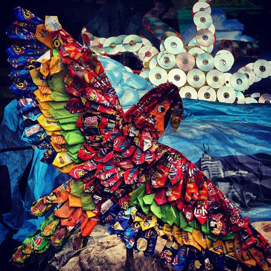 Carrozas ecológicas en la Feria de Herran en Colombia