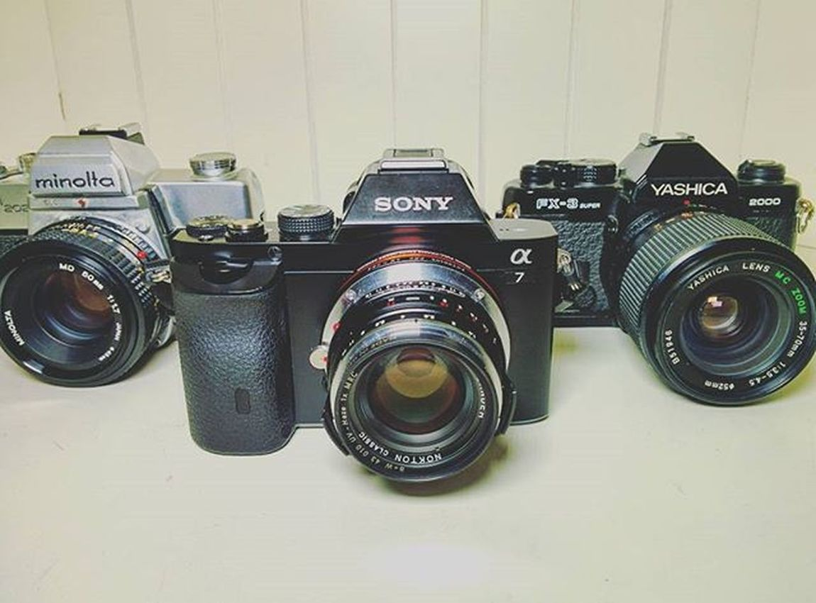 What do you shoot with ? 🙌 Sony Minolta Yashica Camera Voigtländer Instapic Photo Me Roster Filmisnotdead Film