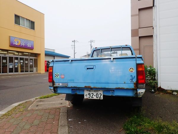 EyeEm Selects Day No People Building Exterior Sky Rebun Island Japan Car Truck