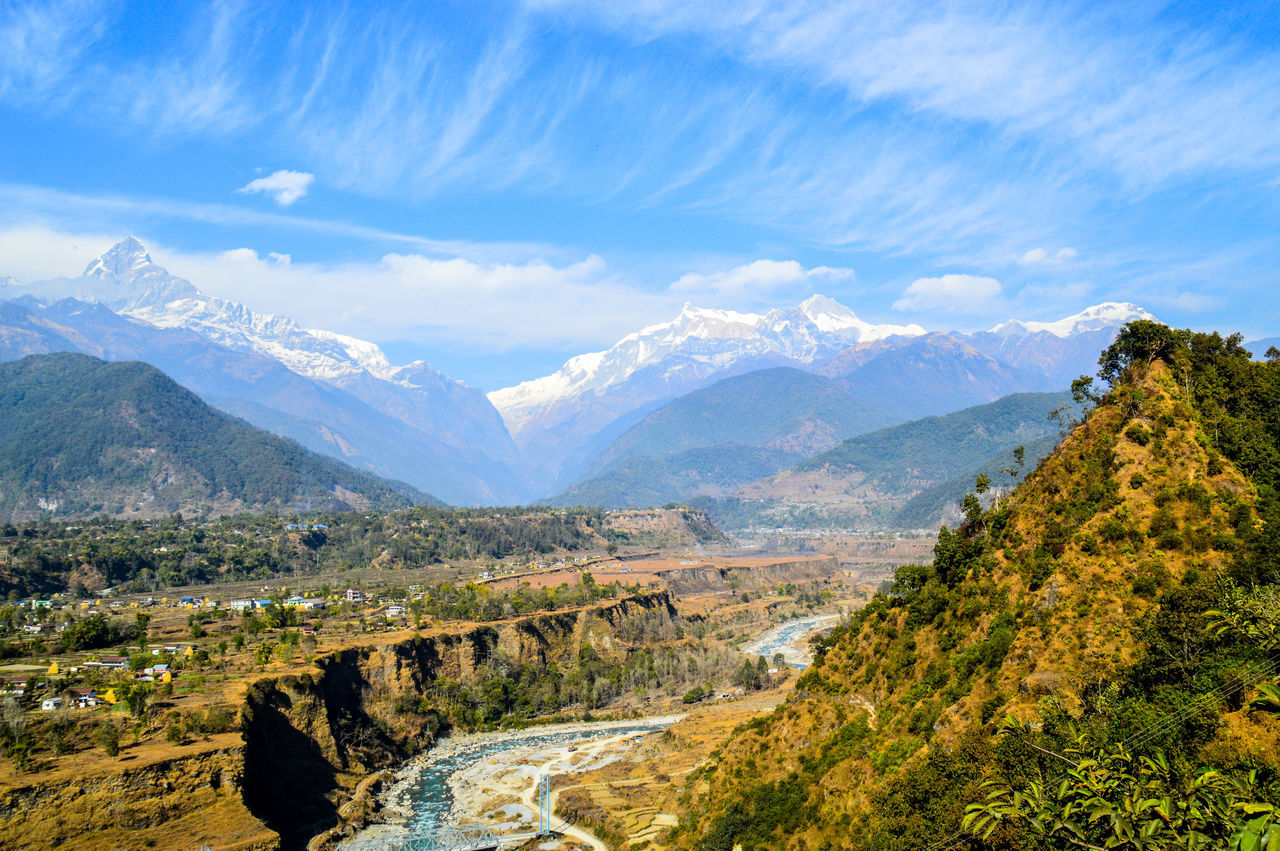 Beautiful stock photos of annapurna,  Annapurna Conservation Area,  Annapurna Massif,  Annapurna Range,  Beauty In Nature