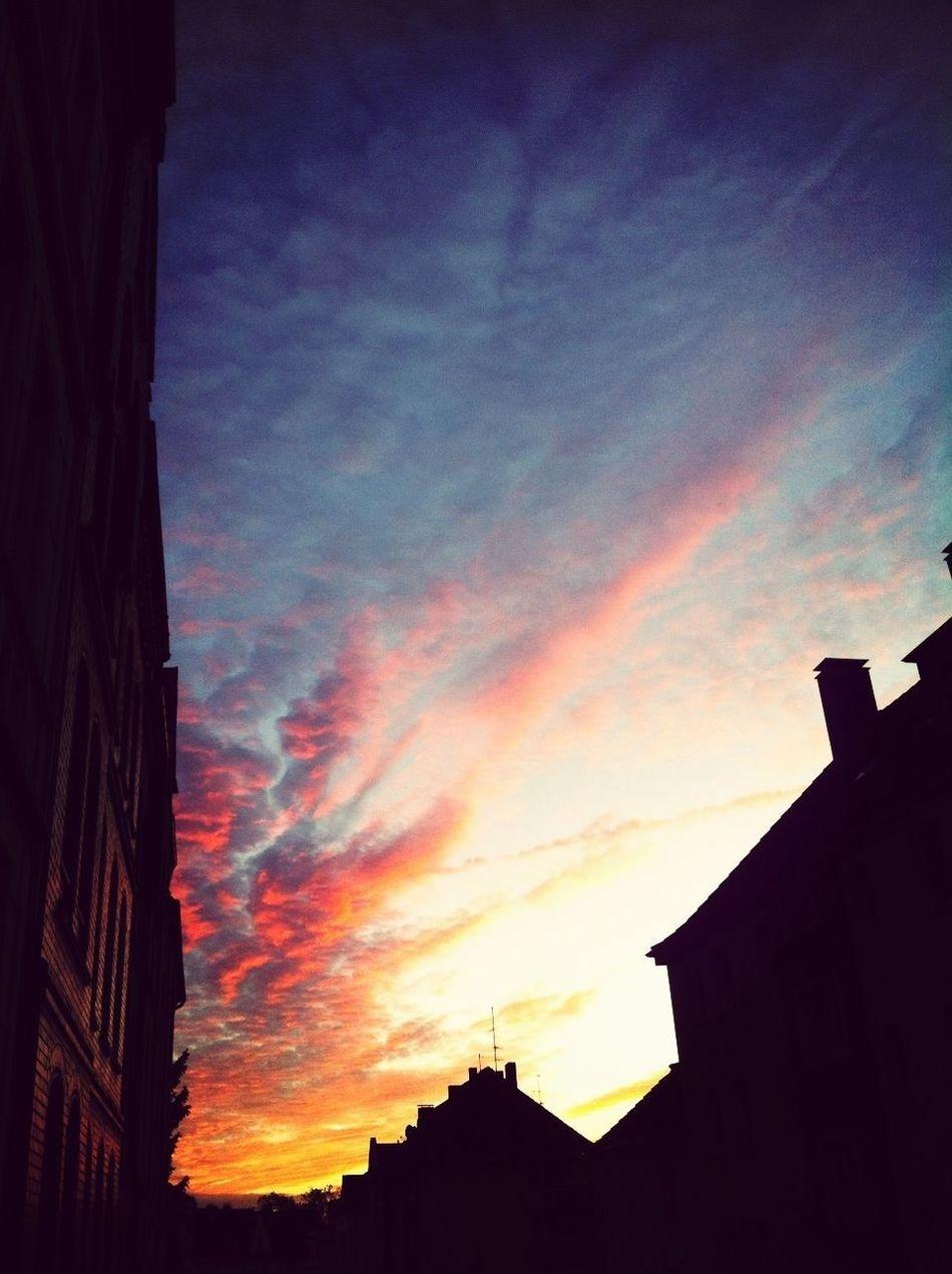 Red October Sky