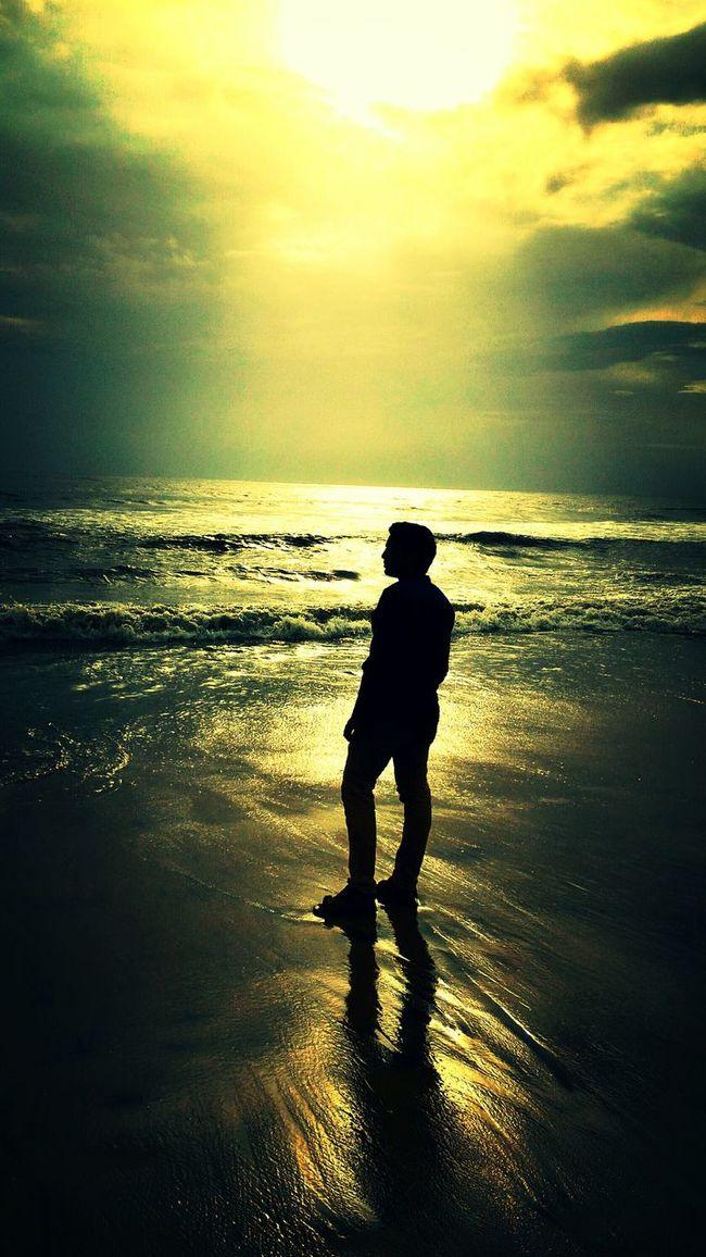 Enjoying The Sea First Eyeem Photo EyeEmBestPics.. Love ♥ Zenfone 2 ze550ml.