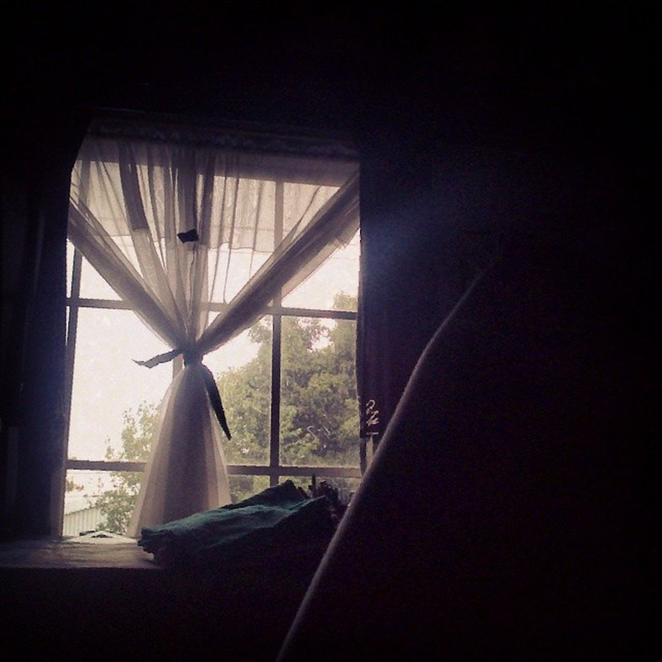 Llegar a casa y descansar :3! 100happydays Day4 Windowrain