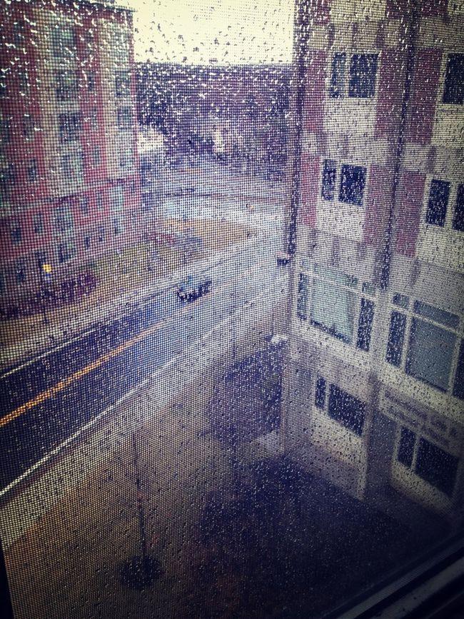 Rainy Days On Campus