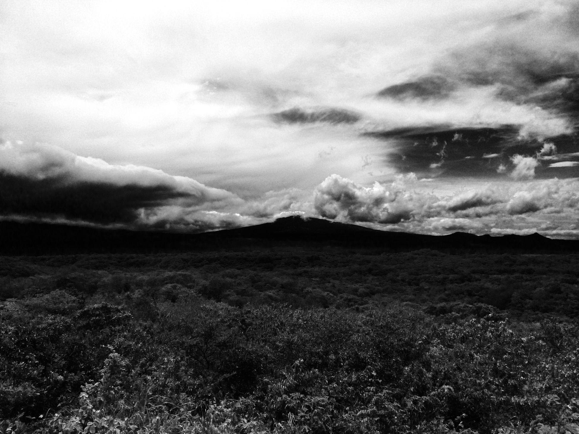 Parque Nacional Santa Rosa Guanacaste  Vista del Volcán Rincón De La Vieja Nature Pura Vida