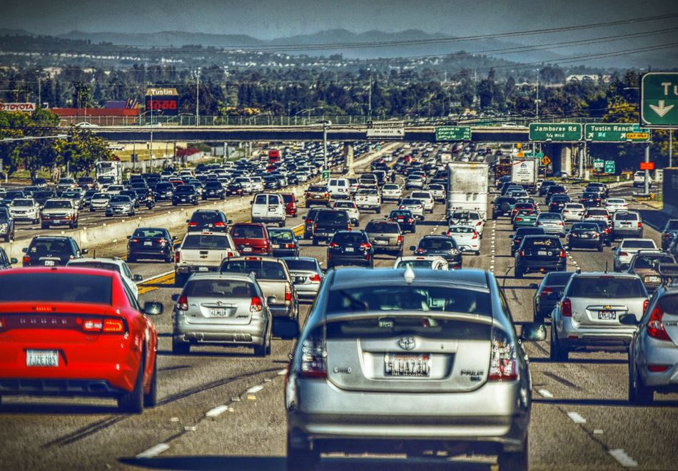 Traffic Traffic Jam So Cal Transportation Car Mode Of Transport Land Vehicle City Traffic Road Building Exterior Outdoors Sky No People Day