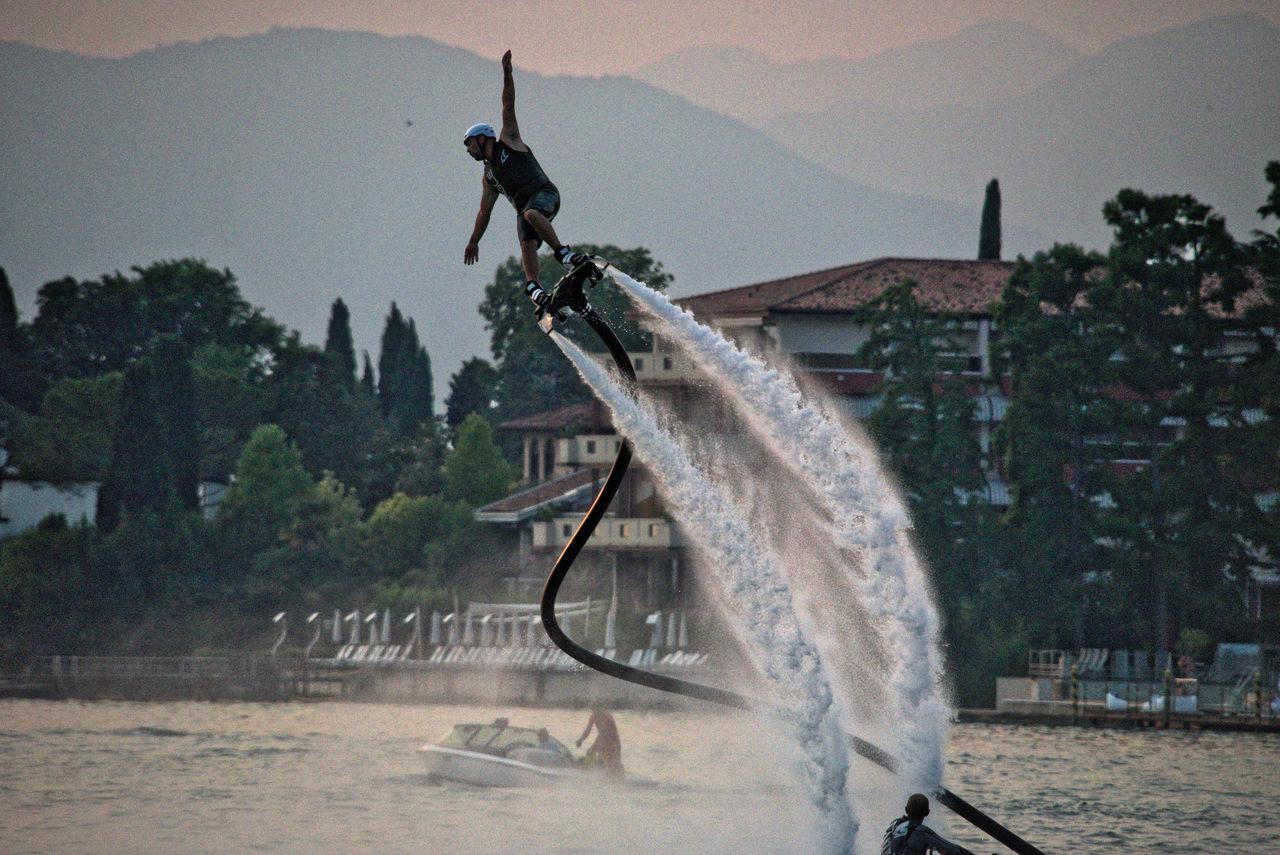 Hoverboard Aquatique Jetski Lago Di Garda Nautica Sirmione Watersports
