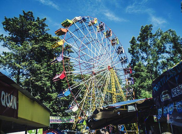 Ferris Wheel Arts Culture And Entertainment Amusement Park Fun Outdoors Sky No People Day Guatemala Guatemala City