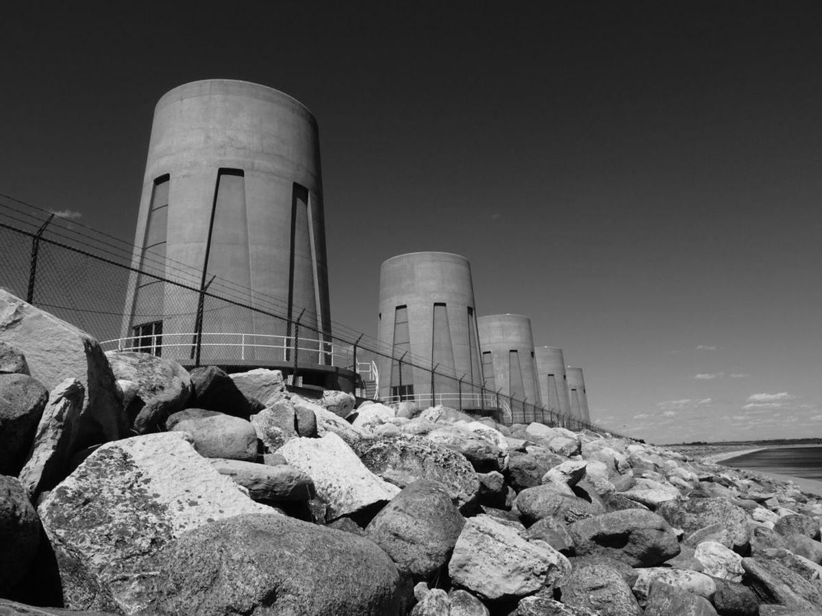 Gardiner Dam. Black And White Landscape Landscape_Collection Dam Energy Gardiner Dam Exploresask Sony Hx60v