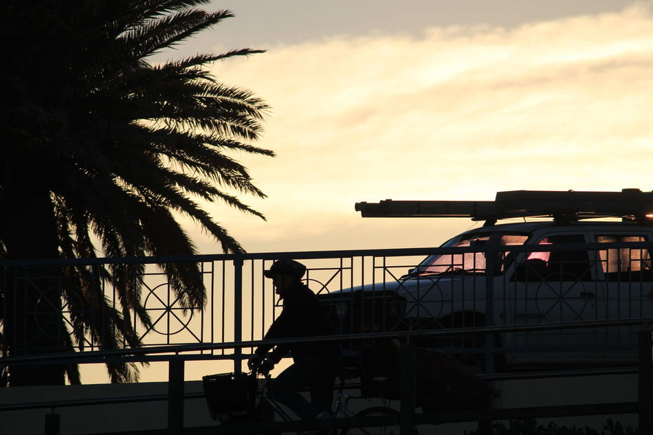 Brightonbeach South Australia Morning Commute Day Break On The Go