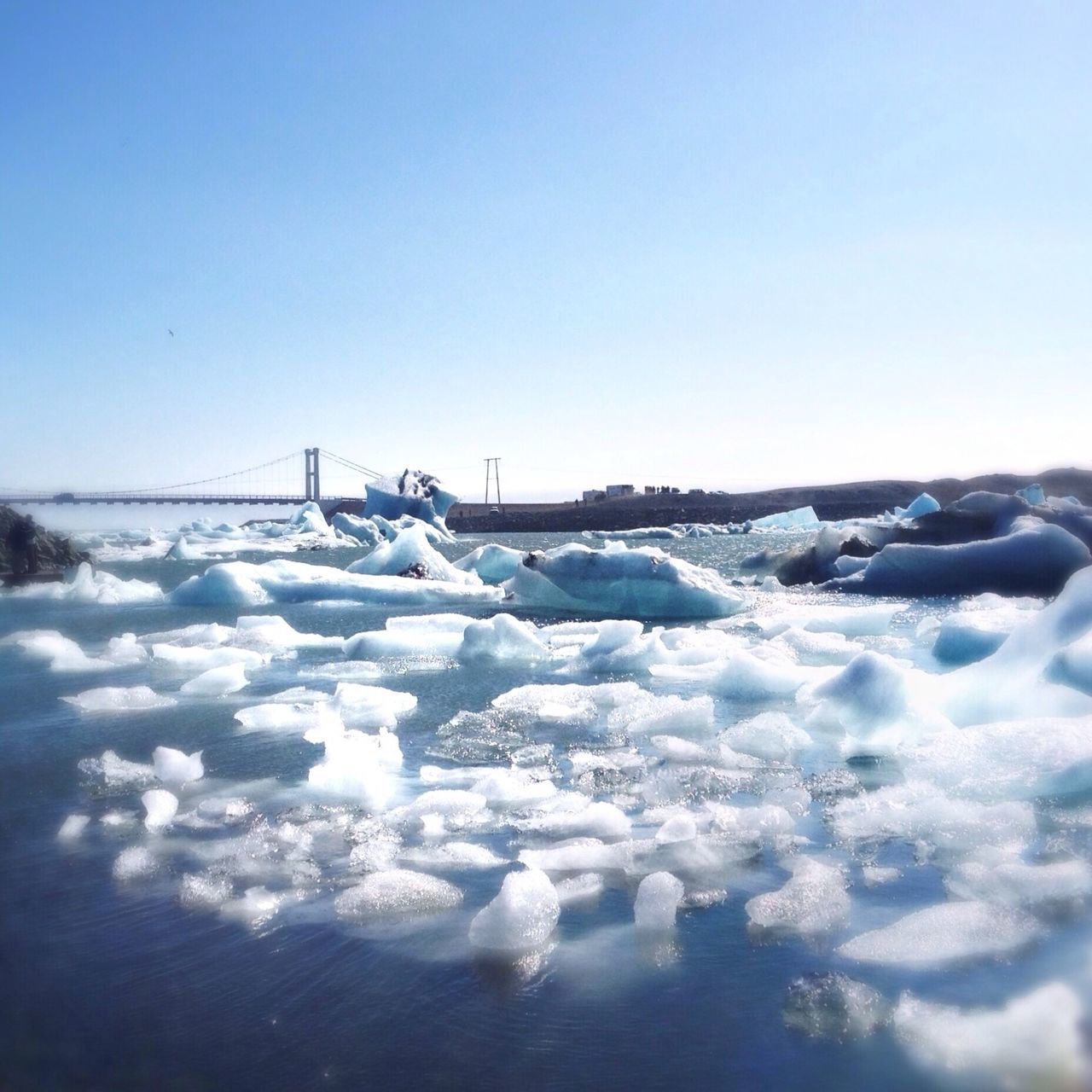 Beautiful stock photos of ice, Beauty In Nature, Blue, Clear Sky, Cold Temperature