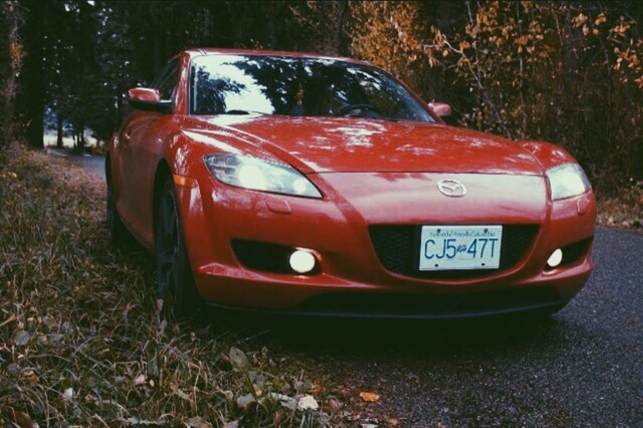 The rotary life 👌 Red Car Transportation Rx8Life Rx8Club Rx8 Mazda