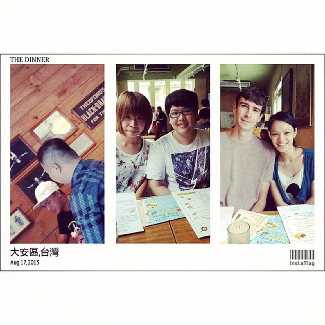 吃吃喝喝 welcome Dylan to Taiwan .