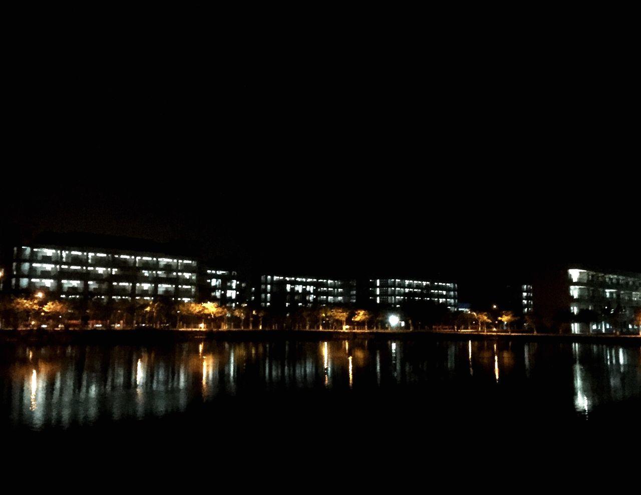 Night Reflection Sch school