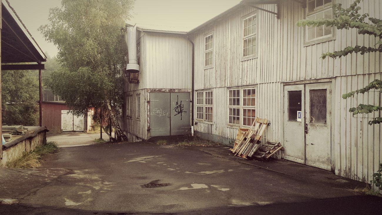 Bjärnum Skåne Sweden Old Buildings Old Factory