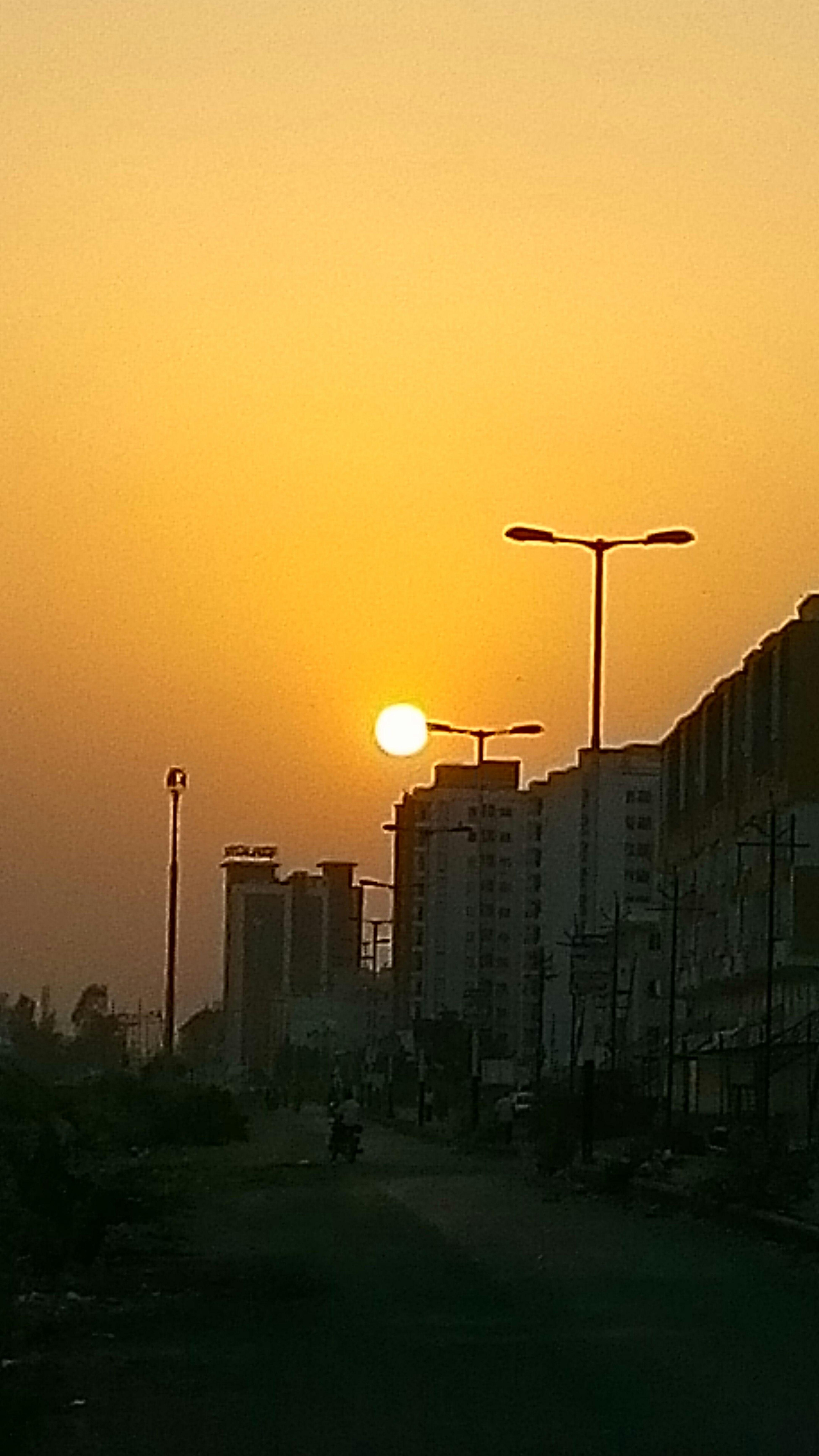 Beautiful Sunset by LAVA IRIS X8 taken by Nitinshrimali