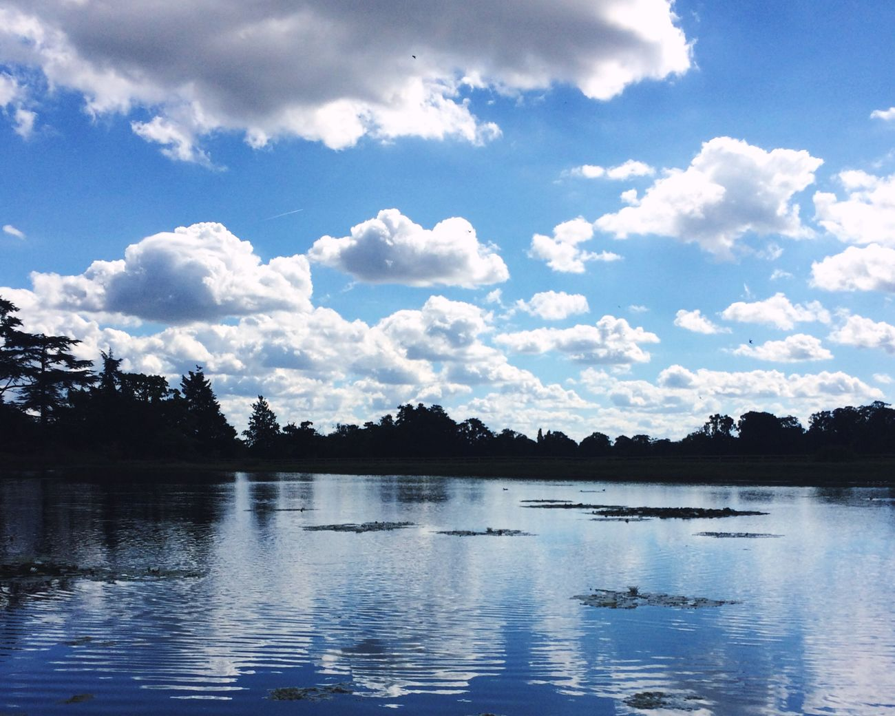 Reflection👈🏼 Water Beauty In Nature Sky Reflection Cloud - Sky Day Blue Outdoors Picnic