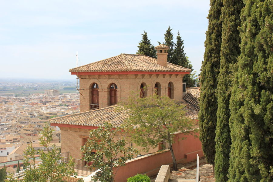 City of history, nature and passion Granada Light SPAIN Tradition Your Ticket To Europe Alhambra Architecture Building Exterior Built Structure Culture Day History Nature No People Outdoors Passion Roof Shadow Sky Sun Tree