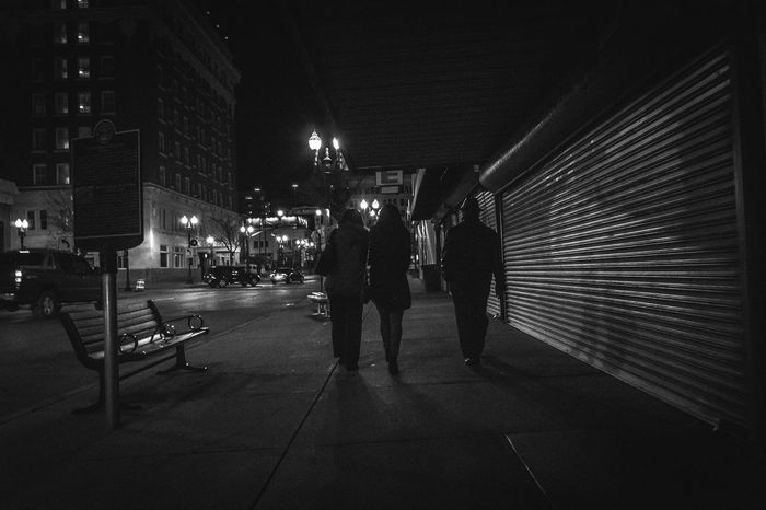 Real People Night Illuminated Adults Only Full Length City Outdoors Streetphotography Downtown Time Nostalgia Oldyear NewYear Newyearseve Celebration Party Party Time Walk