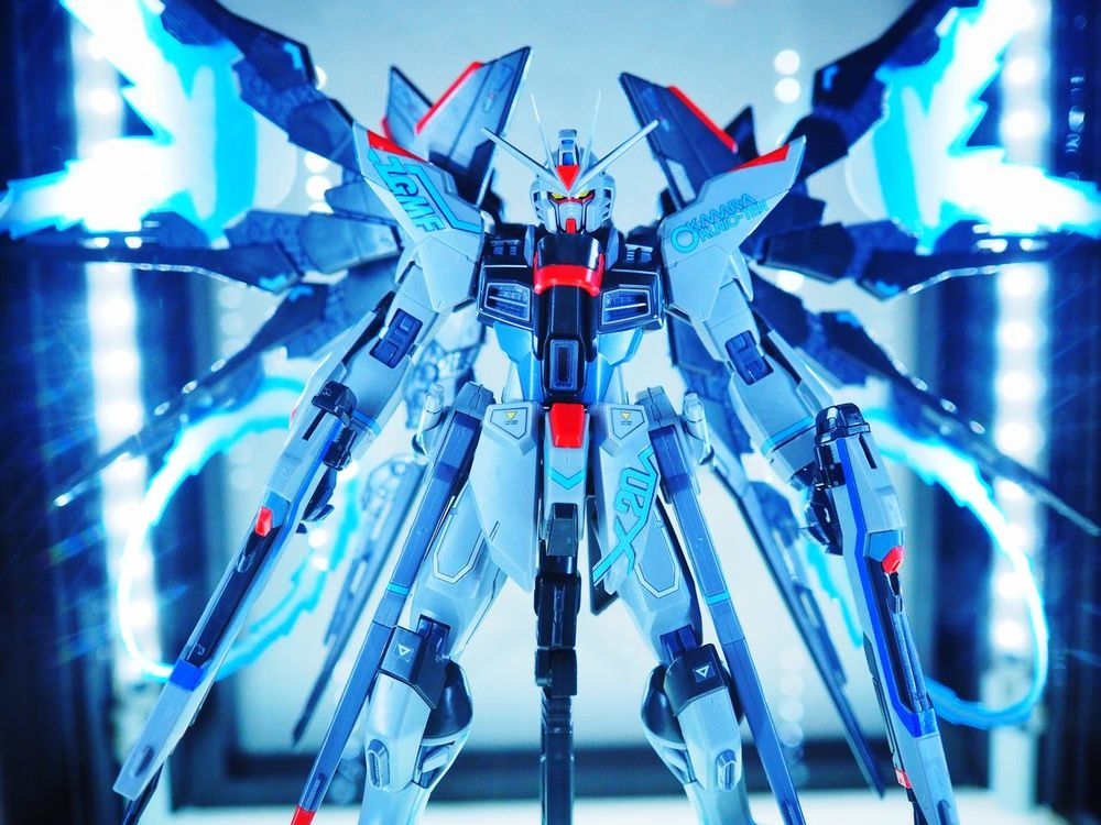 Limited model for exhibition of plastic model of Gundam Plastic Model Gundam Art Museum Exhibition Anime Olympus Om-d E-m10