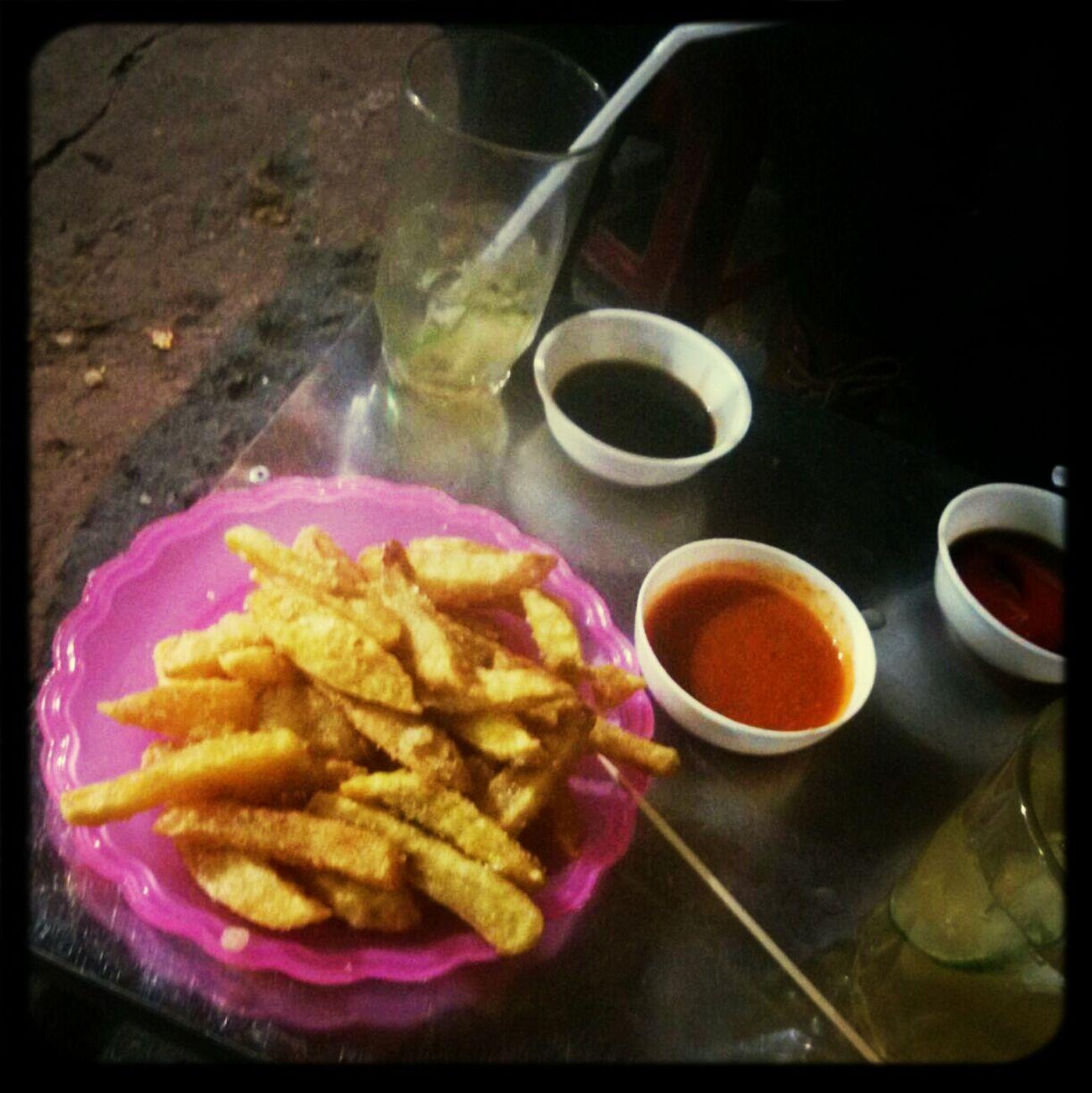 Potato Chip Iced Tea w/ My Friends @ Weekend