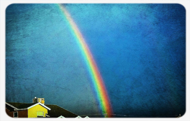 rainbow in El Paso by GreenPrincess82