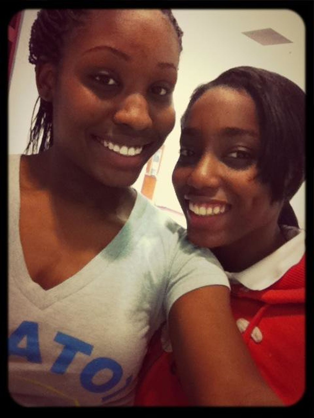 Just leaving practice . Y'all follow my hunny @kera_5 .