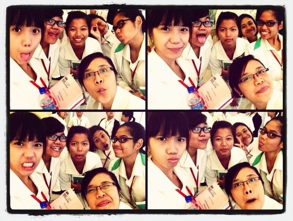 Students nurses on action!