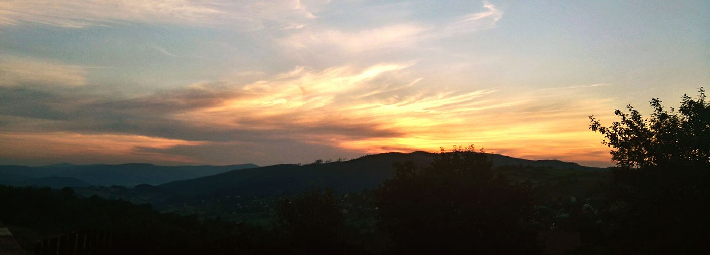 Beautiful Sunset Beautiful Nature New Places Weekend In The Mountains Sky Chilling