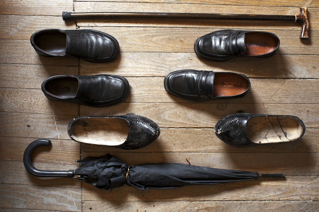 vintage shoes, cane and umbrella of old man Benigno Antique Background Backgrounds Cane Closeup Indoors  No People Old Cane Old Man, Old Shoes Old Shoes... Old Umbrella Shoe Shoes Shoes ♥ Umbrella Vintage Photo Vintage,