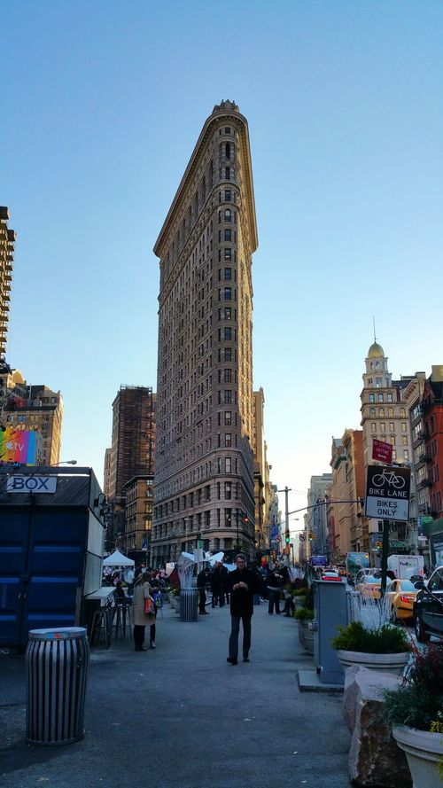 NYC New York City Architecture Flatiron Building Flatiron