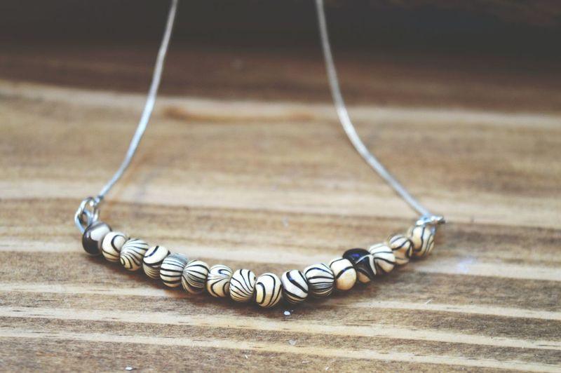 bizoucarcajou.etsy.com . Beautiful Zebra Print Necklace Onsaletoday on my Etsyshop ! Check This Out Come Talk To Me Loves
