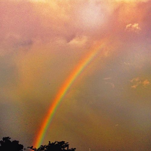 Light refraction NEM Painterly The Places I've Been Today Colors Clouds And Sky Rain Traveling Sky And Clouds