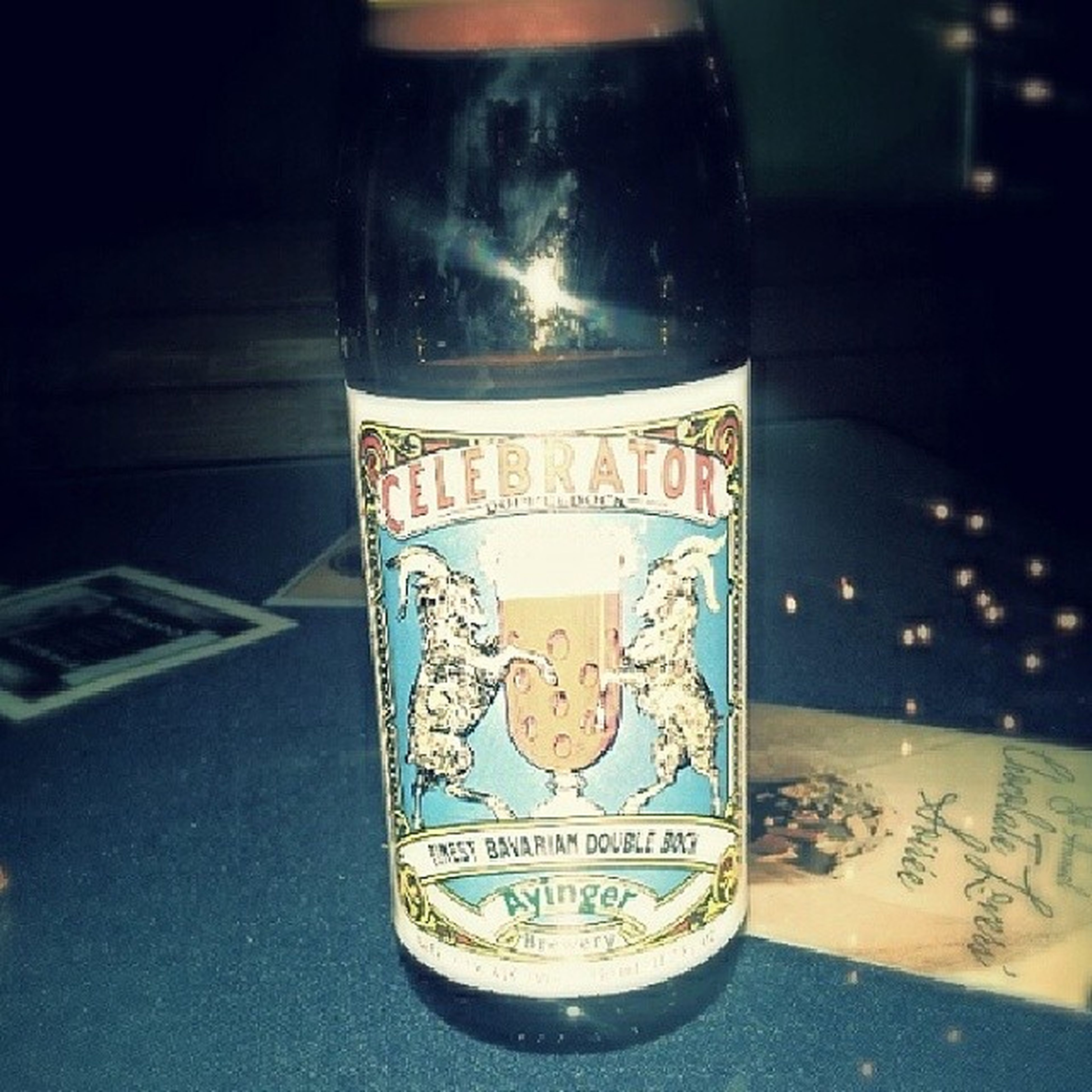 This taste so good! Had a sip of Celebrator and I think I'm in love Fortheloveofbeer Onceithitsyourlips