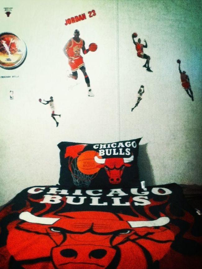 I'm addicted to Chicago Bulls!! :)