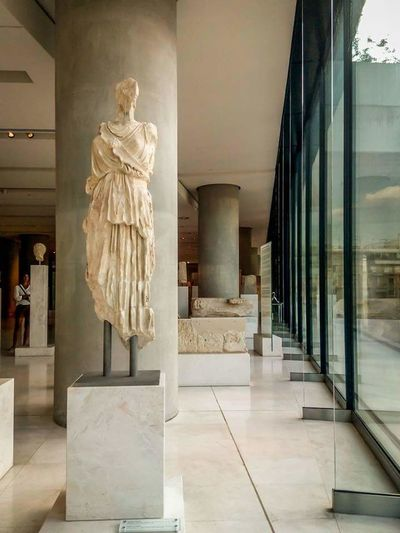 Old and New Sculpture. Architecture Architecture Photography Archirecture Detail Architecture And Art Scultpure Travel Destinations Museum Marble History Statue Athens, Greece