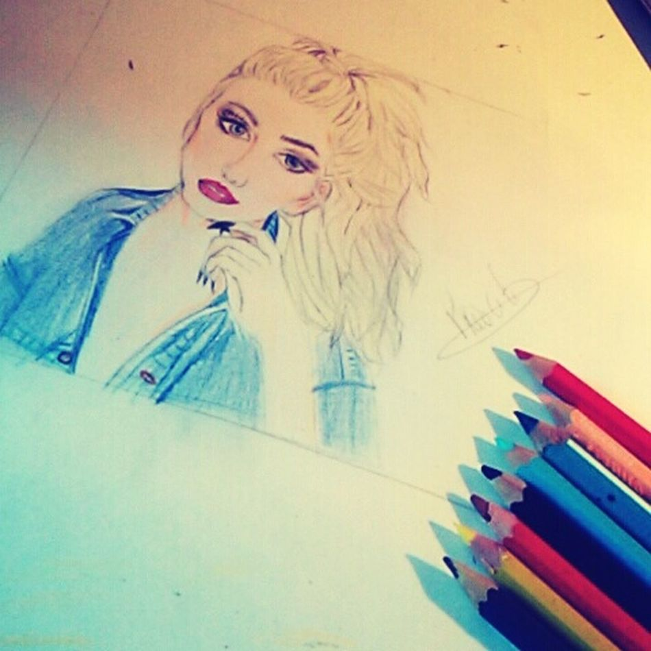 Perrie Edwards Drawing ✏ That's Me Prescilia✨